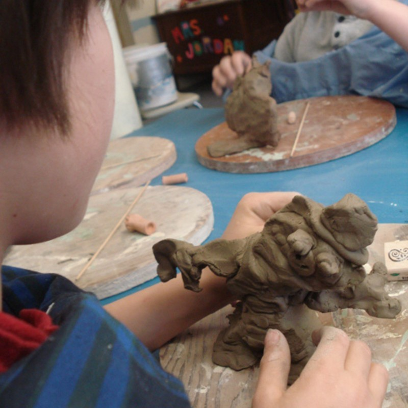 After School Clay Class (age 7-10)