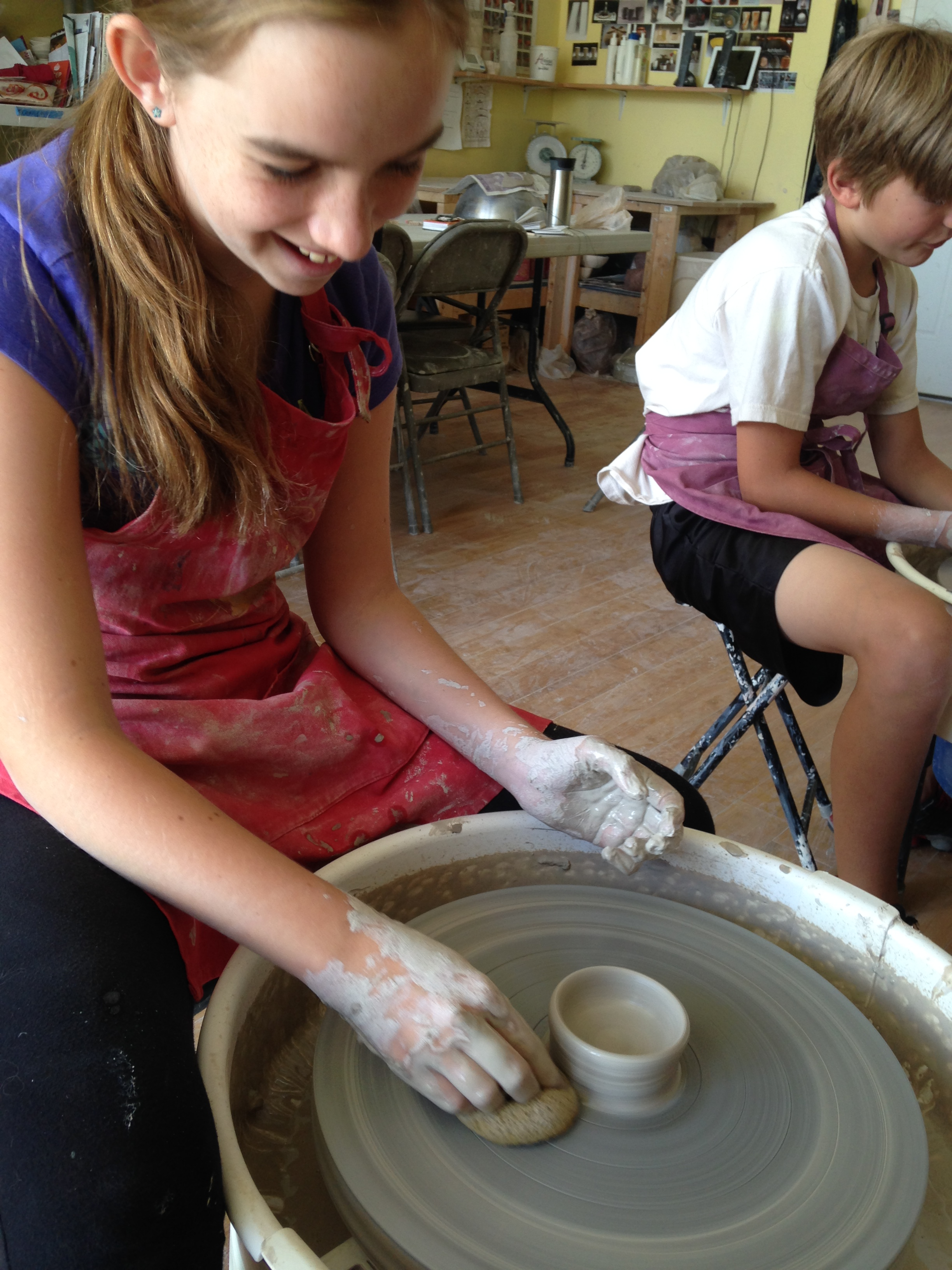 Family Pottery Workshop