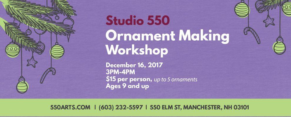 Drip Ornament Making Workshop